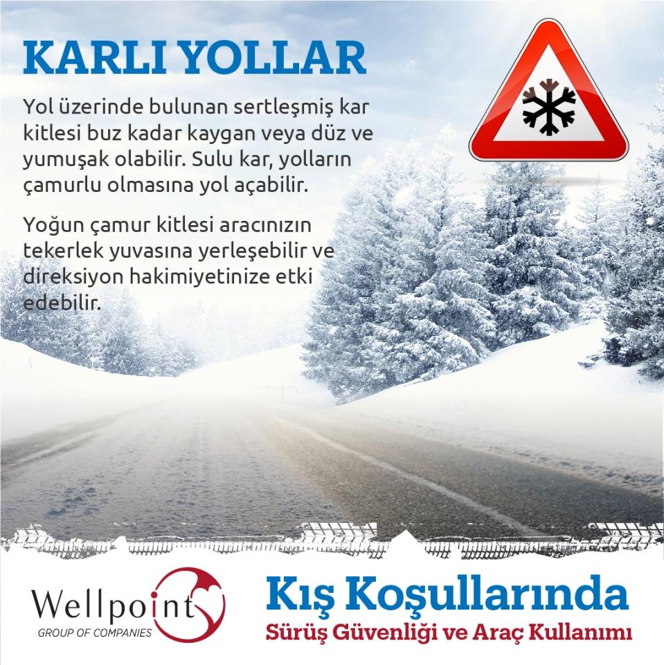 Kış Koşullarında Sürüş Güvenliği ve Araç Kullanımı Hakkında Dikkat Edilmesi Gerekenler